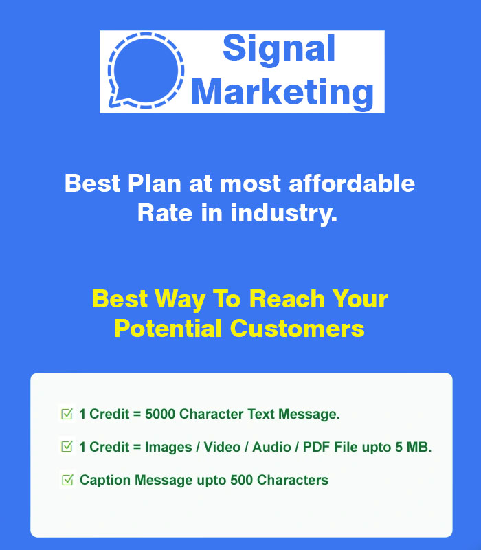 signal marketing service